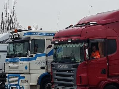 flota ciężarowa