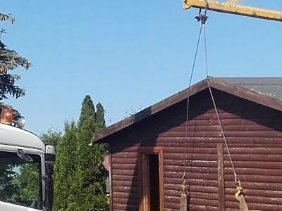podnoszenie domku