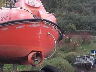 przewóz łodzi podwodnej