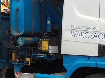 transport koparko-ładowarki